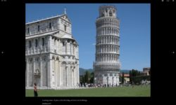 The learning tower of pisa